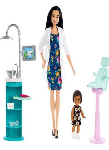Barbie Barbie Ben Büyüyünce Oyun Seti Renkli
